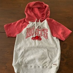 Roots baseball sweatshirt